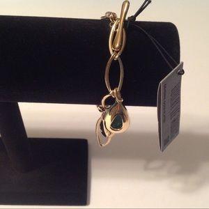 Robert Lee Morris Gold Tone Bracelet